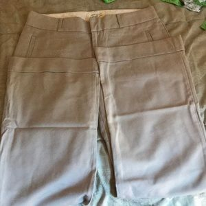 Light tan Banana Republic dress pants